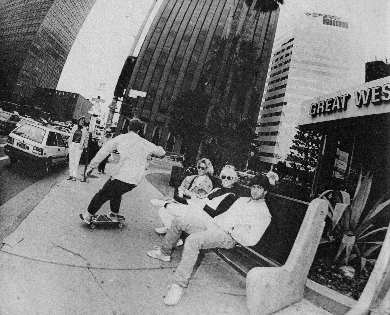 Jake Phelps Facebook: JULIEN STRANGER – 1987