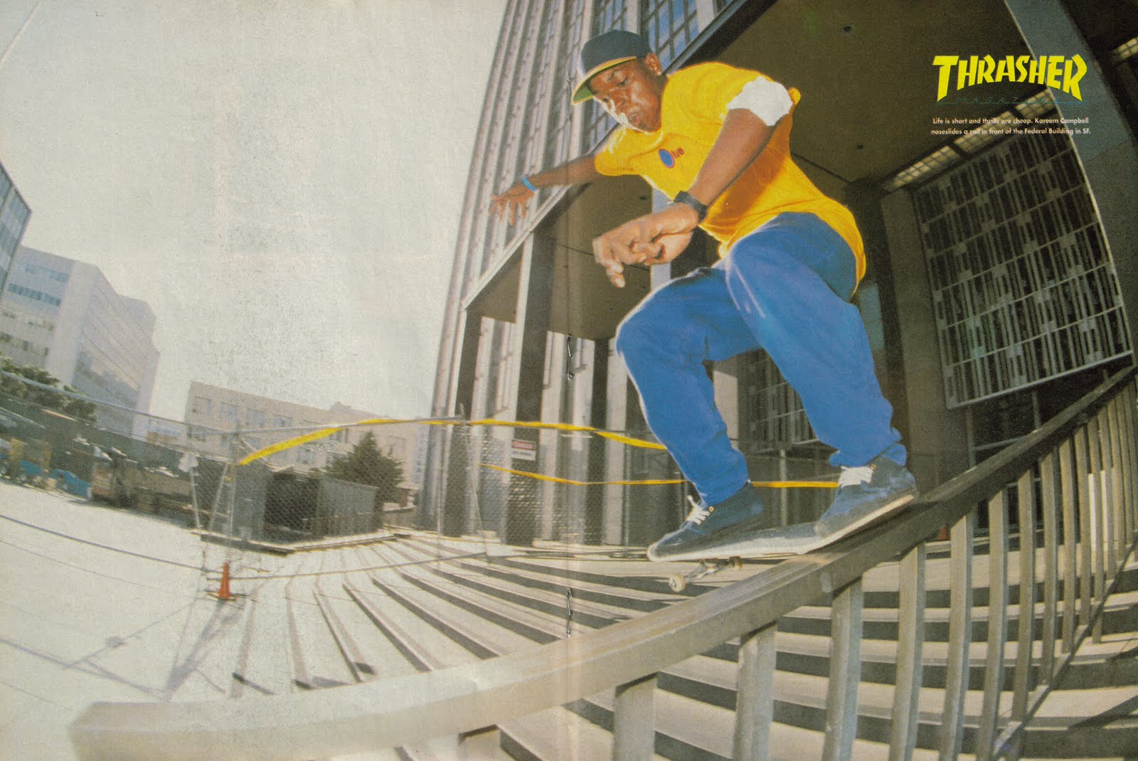 Kareem Campbell Noseslide 1992 None Co