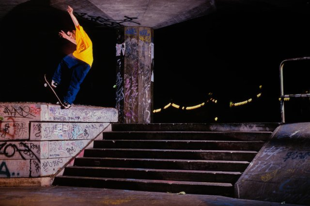 John Rattray. Front Blunt. Southbank.