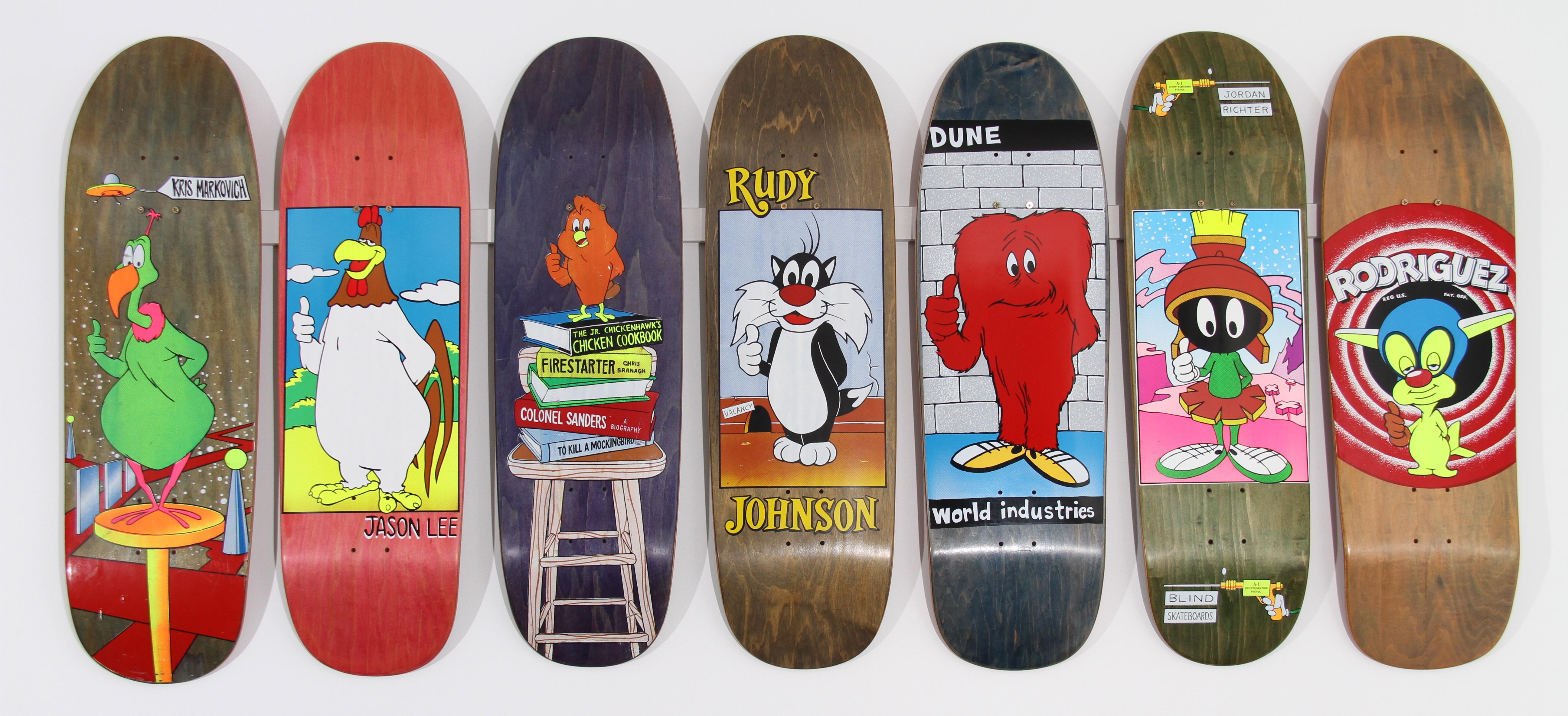 world industries - looney toons | Skateboard Art | Pinterest